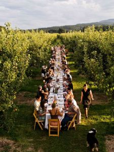 Farm to Fork Dinner at Kiyokawa Family Orchards, Parkdale, OR